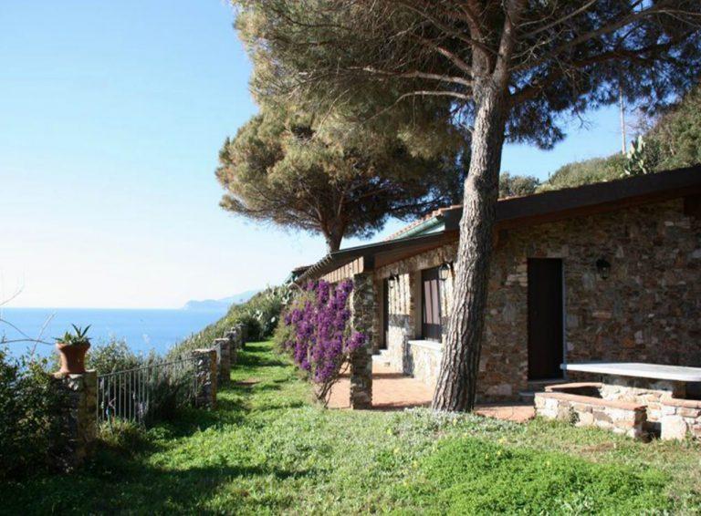 Villa erste vista mare